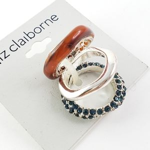 NWT! Stacking Rings by Liz Claiborne